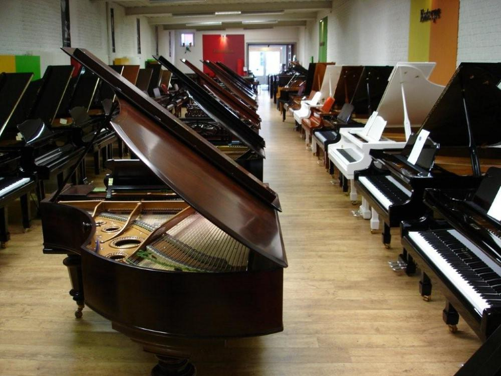 Salle d'exposition Piano's Carlier